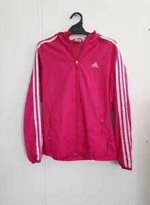 Pink Adidas Running Hoodie Jacket Preston Darebin Area Preview