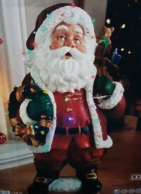 Santa Christmas Ornament Inddoor / Outdoor Use