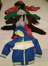 Bundle of Boys Jackets size 2-3 years(6 items)