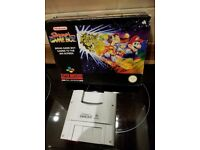 Rare Fully Boxed Super Gameboy Adapter For The Super Nintendo Console SNES Game