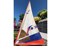Retro Windsurfing Sail Gaastra