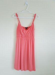 2 DRESSES Coral Dress & Lace Dress