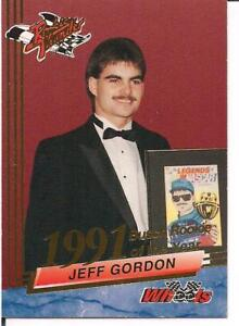 6 Jeff Gordon Rookie Years Cards
