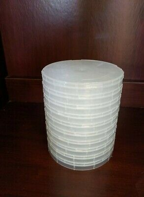 4 Inch Single Wafer Carrier Pack Of 10 Polypropylene Clean Room Class 1000