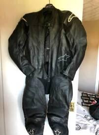 Alpinestar 1 piece leathers size 46 eur