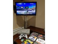 PS1 Original Retro Console With Games Playstation One With Dualshock Controller Memory Card PS4 Wii