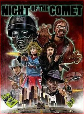 Night Of The Comet  Dvd  Sci Fi Horror Color