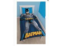 Brand New Batman Design Single Duvet Set
