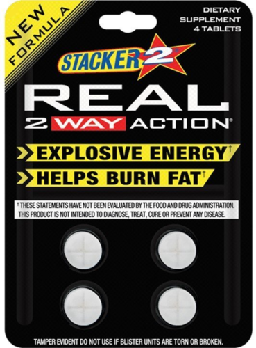 Stacker REAL 2 Way Action Fast Energy Diet Burn Fat Weight Loss 2WAY Supplement 1