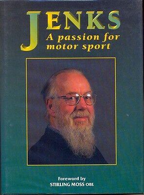 Jenks, a passion for Motor Sport - Denis Jenkinson - hardback book