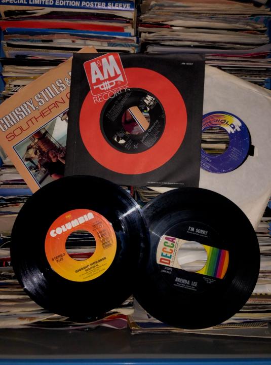 "Jukebox - Lot of x50 (45's) random Jukebox Records - 7"" 45 rpm"