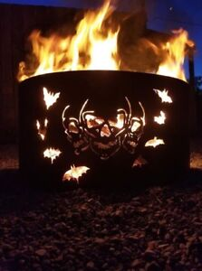 Custom Firepits with grate