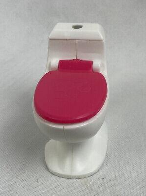 2015 Mattel Barbie Dream House Replacement Toilet Piece Part EUC