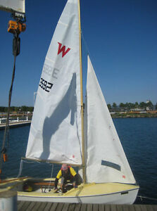 Wayfarer sailboat for sail