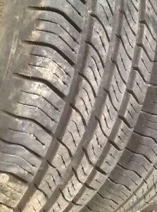 2 P175/65/14 Michelin all season tires around 90% tread on rims