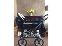 Immaculate Silver Cross Pram/Buggy