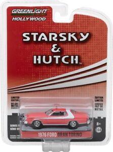 Greenlight Hollywood 1976 Ford Gran Torino Starsky and Hutch Free USA Ship