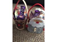 My newest additions for the kids Reindeer and Santa bags full of yummy treats