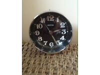 Retro bedside wind up clock