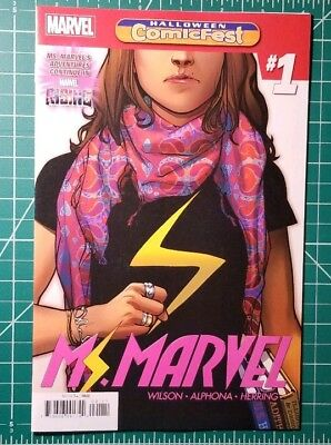 Halloween ComicFest HCF 2018 MS MARVEL #1 Marvel Comics Alphona NM (Halloween Comicfest Comics)
