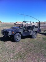 1985 bombardier Iltis and matching trailer