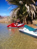 Two Jetskis and Trailer