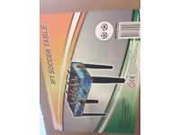 3foot football table BRAND NEW IN BOX