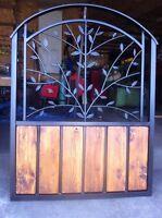 Custom, Ornate, wrought iron gates, fences ,driveway gates.