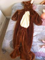 size 4-5 squirrell costume