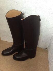Regent Leather Boots