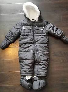 Baby winter bunting snowsuit size 3-6 months