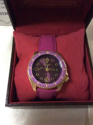 JoJo's Bizarre Adventure Seiko 5 Sports Wrist Watch Giorno Giovanna Limited