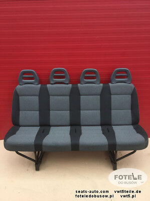 Seat Fiat Ducato Citroen Relay Boxer Jumper bench four seats rear