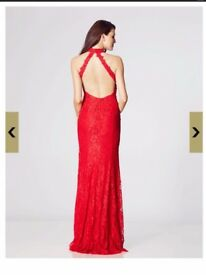 Tiffany's AVA red dress