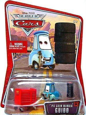 - GUIDO pit crew member disney pixar cars NEW woc world of cars #34 forklift pitty