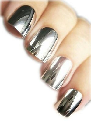SPIEGEL CHROME NAGELFOLIEN - MIRROR NAIL WRAPS by GLAMSTRIPES