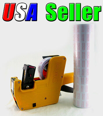 New MX-5500 Price Tag Label Gun with 1 Tube 10 Rolls Labels