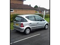 MERCEDES A140 CLASSIC 1.4 ENGINE /HPI CLEAR GOOD ENGINE not polo Clio Vauxhall bmw