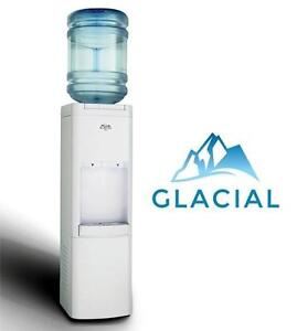 NEW GLACIAL TOP LOADING WATER COOLER - 108776653 - WHITE DISPENSER