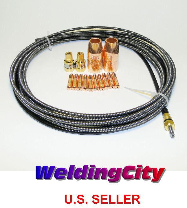 MIG Welding Liner Miller 194010 .023-.025 15ft Miller M-Series Replacement
