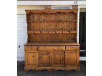 Large solid pine dresser