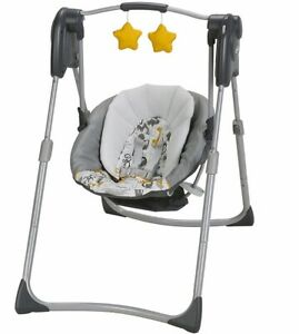 "Graco ""Swing by me"" 2 in 1 portable swing *BRAND NEW*"