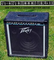 Peavey Amplifier, 50 Watts with 12 inch Speaker & Tweeter