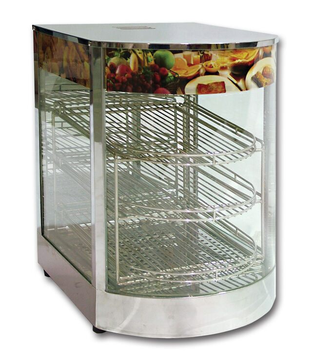 Omcan DH1P, Food Warmer, Display Case, CE