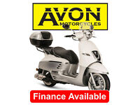 Peugeot Django 125cc Allure 125 +Top Box Scooter, Allure 125