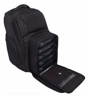 6 Pack Fitness Bag Expedition 500 Black Stealth Meal Management Bag