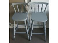 Pair breakfast bar stools (delivery available)89