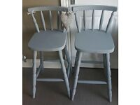 Matching pair bar stools (delivery available )