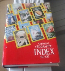 National Geographic INDEX 1947-1983
