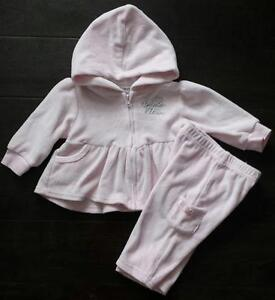 Calvin Klein hoodie & pants for baby girl size 3-6 months